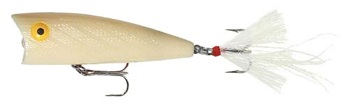 - Rebel Lures Magnum Pop R Fishing Lure (3-Inch, Bone)