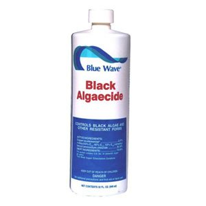 Blue Wave Concentrated Algaecide - Blue Wave Black Zapper Swimming Pool Algaecide- 1 qt.