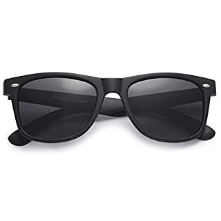 Men's black sunglasses