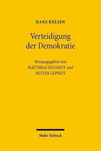 Verteidigung der Demokratie: Abhandlungen zur Demokratietheorie