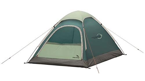 Easy Camp Double Comet 200 Dome Tent, Light/Dark Blue, 5709388081605