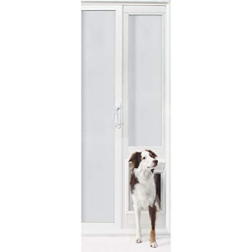 - StarSun Depot Ideal Pet Products VIP Vinyl Insulated Pet Patio Door - Extra Large / 76 3/4