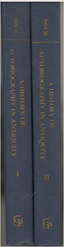 A History of Autobiography in Antiquity. [2 volumes]