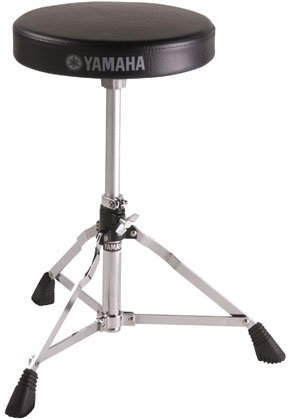 Yamaha DS550U Light Weight Drum Throne with Adjustable Height and 2'' Padded Cushion