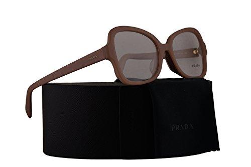 Prada PR25SVF Eyeglasses 53-18-135 Matte Pink w/Demo Clear Lens UFF1O1 VPR25S VPR 25S PR - Prada Butterfly