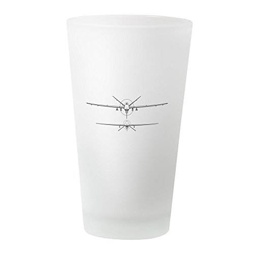 Predator Spy Plane (CafePress - Deadly Duo - Pint Glass, 16 oz. Drinking Glass)