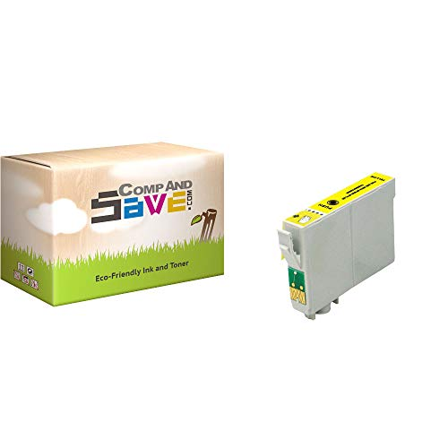 CompAndSave Replacement for Epson Stylus CX7000F Printer Inkjet Cartridge, Epson T069420 Yellow Ink Cartridge ()