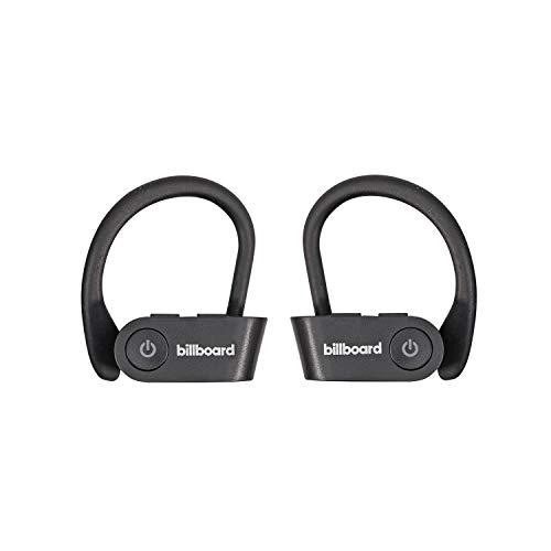 Billboard – True Wireless Secure Fit Sport Earphones, Black, One Size (HSBT-BB2516)