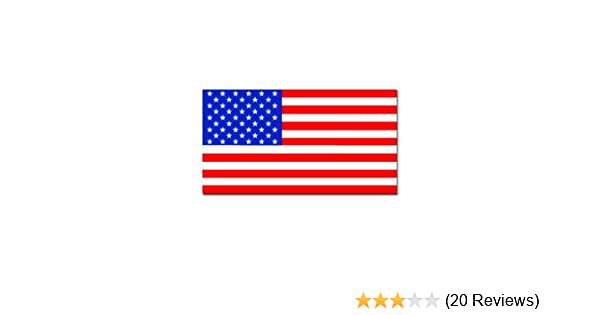 Amazon com usa american flag patriotic car truck notebook vinyl decal sticker s370 automotive