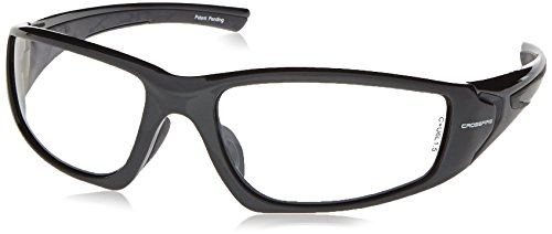 Crossfire 23615 RPG Safety Glasses Indoor / Outdoor Lens - Shiny Pearl Gray - Sunglasses Eyes Dry Indoors For