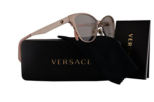 Versace VE1245 Eyeglasses 53-16-140 Copper w/Demo Clear Lens 1052 VE - Eyeglasses Versace Sale