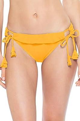 Becca by Rebecca Virtue Women's Socialite Loop Tie Side Hipster Bikini Bottom