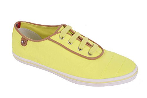 Tommy Hilfiger Damen Sneaker Vivien 12D Lemon Lemon