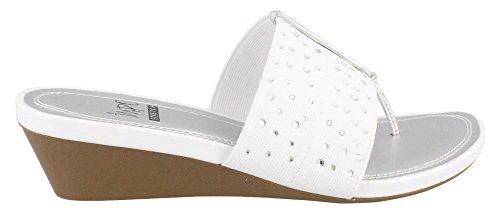 Impo Women's Gift Hot Fix Wedge Slide Sandal