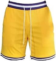 Segindy Men's Sports Shorts Summer Casual Comfortable Drawstring Elasticated W