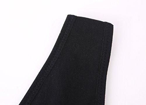 Delle Reggiseno Black Libero Vest Giunte Premaman Senza Reggiseni Donne Comfy Allattamento Crop Top del Reggiseno KUCI qtxBZ8