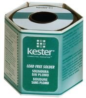 Kester 48 Activated Rosin Flux Core Lead-Free Solder Wire - +792 F Melting Point - 0.062 in Wire Diameter - Sn/Ag/Cu Compound - 24-7068-1400 [PRICE is per POUND]