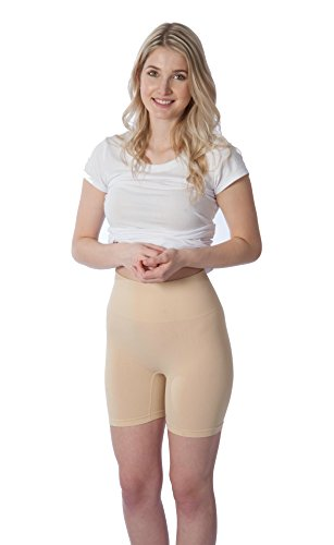 RUFINA Women's Seamless Shapewear Girdle Thigh Slimmer Short Firm Control Brief