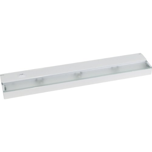 Progress Lighting P7034-30WB 3-Light 120 Volt Xenon Undercabinet, White