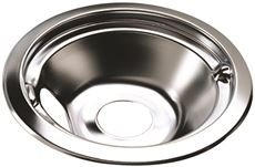 NATIONAL BRAND ALTERNATIVE GIDDS-2489347 Electric Range Drip Pan Fits Whirlpool Ranges, Chrome, 6