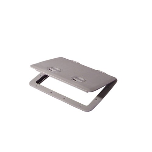 Tempress Dark Gray 1317 Cam Hatch Without Lock, 13 X 17.25 X 1.5