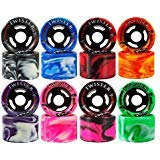 Sure-Grip Twister Wheels - red/White ()