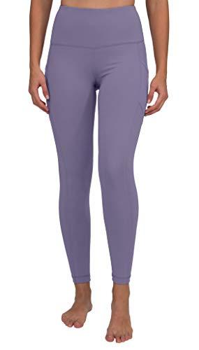 90 Degree By Reflex High Waist Interlink Yoga Pants - Alpine Iris - XS