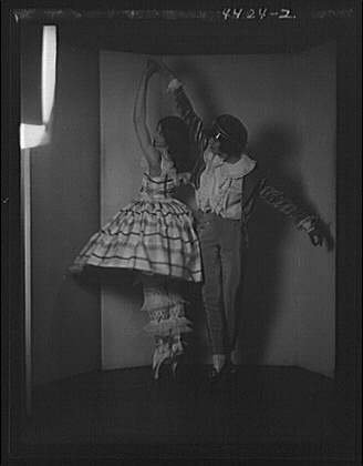 HistoricalFindings Photo: Wilde,Jason,Misses,dancers,women,costumes,clothing,Arnold Genthe,1924 3 for $<!--$14.77-->