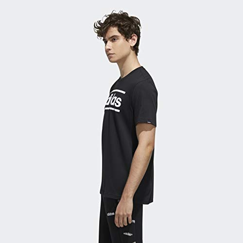 adidas Men's Linear Logo Graphic T-Shirt 3