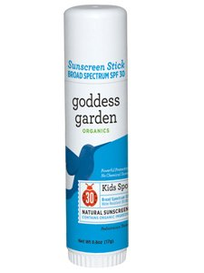 Goddess Garden - Kids Sport SPF 30 Natural Sunscreen Stick 0.6 (Goddess Garden Natural Sunscreen)