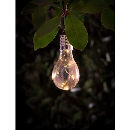 Edison - Bombilla LED de filamento solar para jardín: Amazon.es: Iluminación