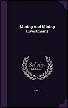 Book Mining And Mining Investments