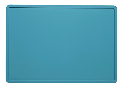 Sugarbooger Tabletop Splat Mat, Pool Blue - Edge Tabletop