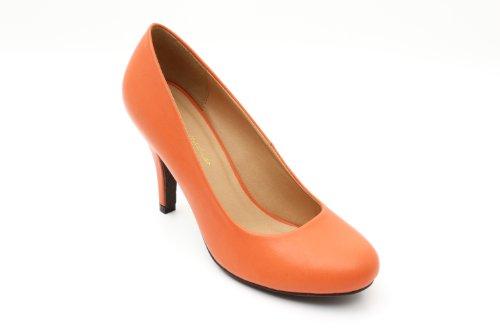 tacco Arancione col Scarpe Andres Softorange donna Machado 6wxtAnqvz