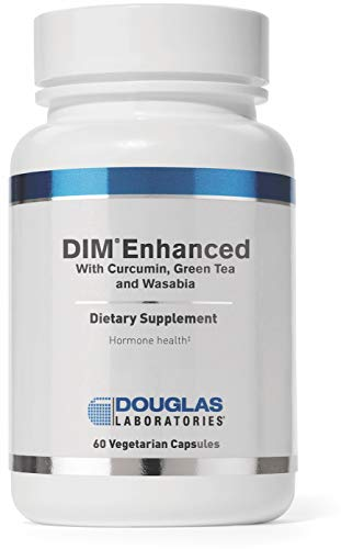 Douglas Laboratories - DIM Enhanced - with Curcumin, Green Tea, and Wasabia to Support Healthy Estrogen Hormone Balance and Immune Health* - 60 Capsules