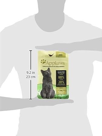 Applaws Comida seca para gatos, pollo/senior, 400 g: Amazon.es: Productos para mascotas