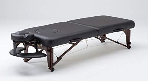 ネチュラProfessional Hard Foam (プロフェッショナルハードフォーム)(ブラック) 脚部:ウォルナット木製 降り立った見ベッド  ブラック B07N581RNF