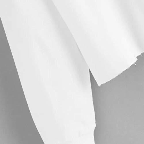 color Capuche Shirt Manches Blanc Occasionnels Chemisiers Fashion Stripe v Panel Longues Femme en zahuihuiM Col New Winter Sweat z5WwBqS