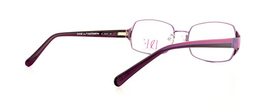 DVF Monture lunettes de vue DVF8014 513 Shiny Purple 54MM