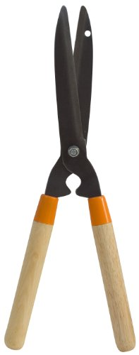 Flexrake LRB309 Light Duty 8-Inch Hedge Shear with Wood Handle