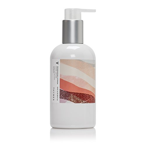 Thymes - Rosewood Citron Hand Lotion with Pump - With Moisturizing Shea Butter and Vitamin E - 8.25 oz