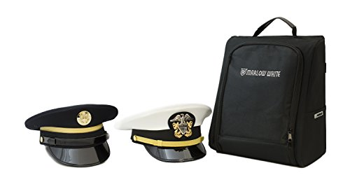 Marlow White Uniforms CoverBag - Service Uniform Cap protective travel bag