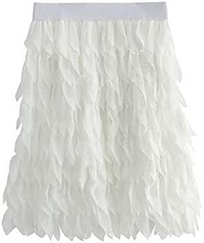 Vectry Falda Plateada Mujer Faldas Largas Verano Faldas Mujer ...