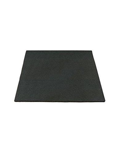 HIGH TEMP FELT PLUMBERS PAD: BLACK, 12