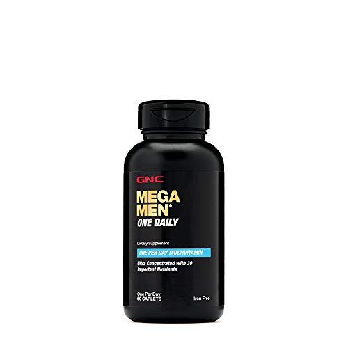 GNC Mega Men One Daily - 60 Caplets
