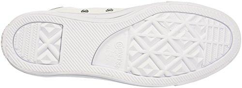 White Canvas Zapatillas Silver White de Converse Deporte Taylor Blanco Mujer 102 Hi para CTAS Chuck wxFnpTSqP