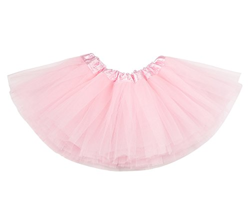 belababy Baby Girl Tutu Pink 5 Layers Dress Up Skirt