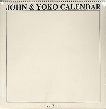 JOHN & YOKO CALENDAR 1970 - 1970 Calendar