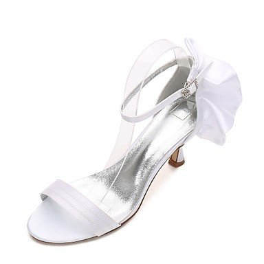 Boda CN42 5 Plana Primavera US9 RTRY Noche Rubí Rhinestone Vestido Shoes 8 UK7 Azul Mujeres'S Bowknot Las 5 Verano Heelivory Satin Confort Champán De amp;Amp; Wedding 10 EU41 YT1pR8Twq