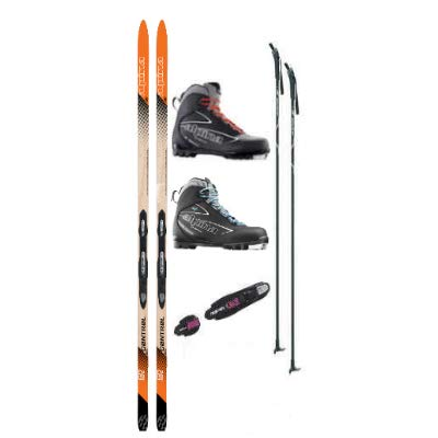 - Alpina Control 60 Cross Country Ski Package (Skis, Boots, Bindings, Poles)
